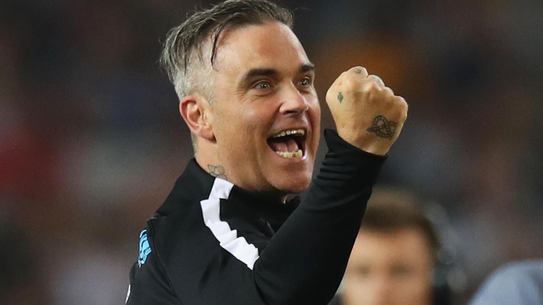WM 2018: Robbie Williams singt bei der Eröffnungsfeier in Russland