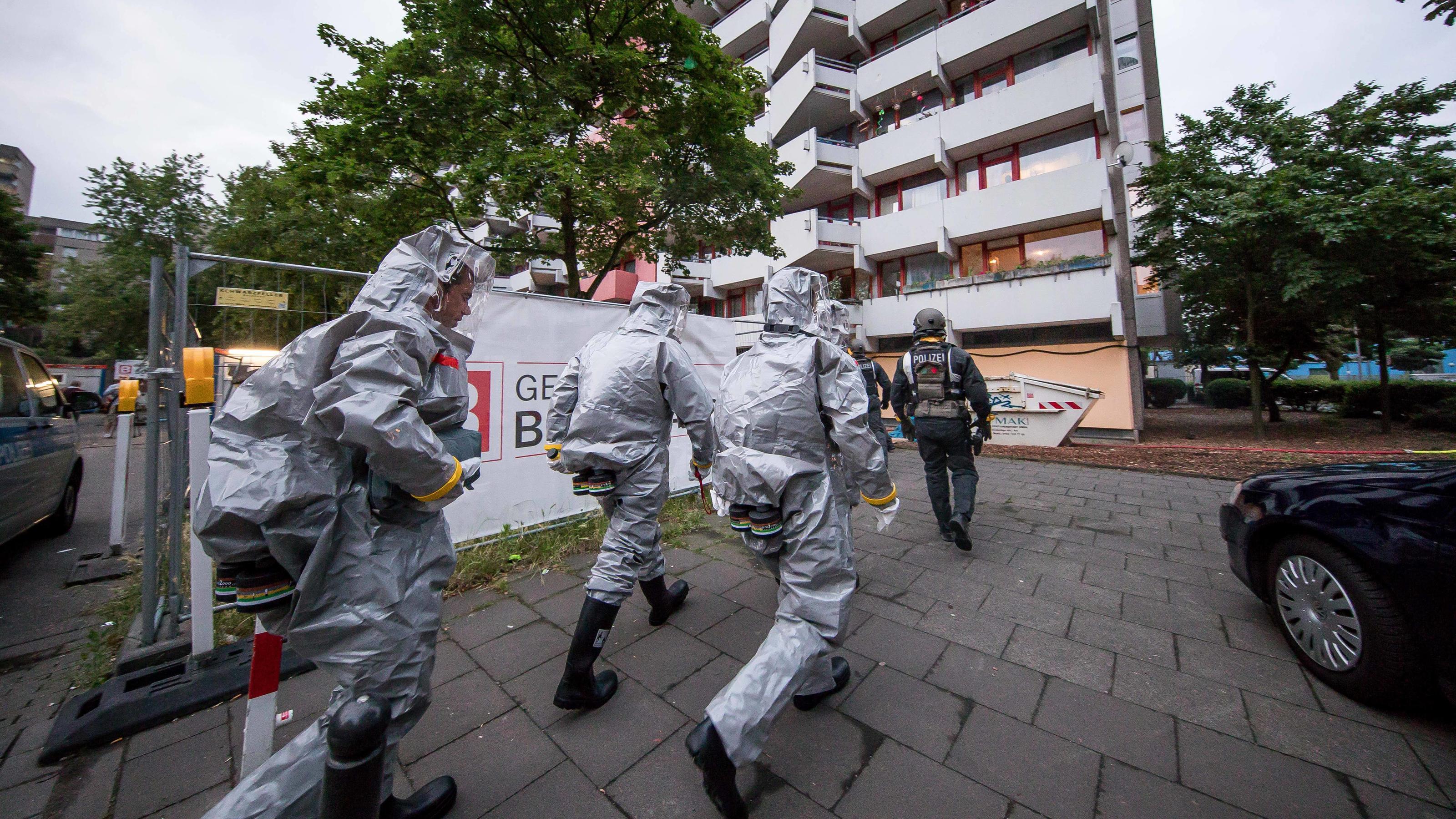 Terror-Verdacht in Köln-Chorweiler: Ermittler finden hochgiftiges Rizin in Wohnung