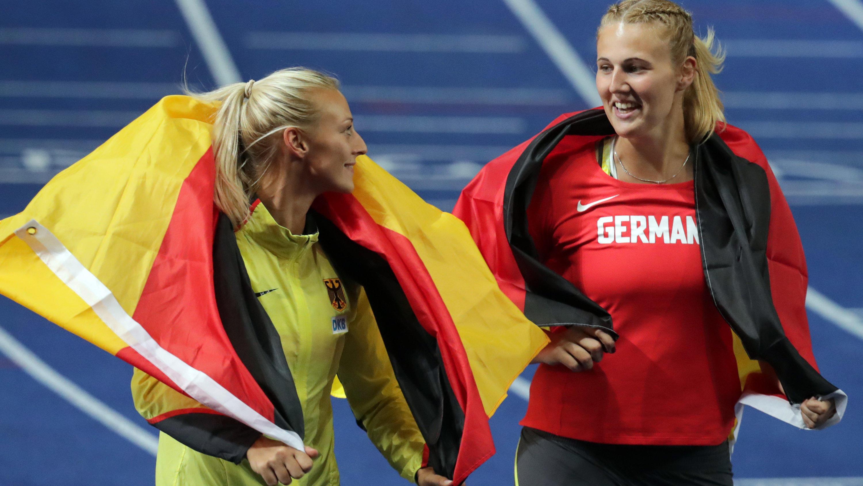 Leichtathletik-EM: Starke Frauen holen vier Medaillen