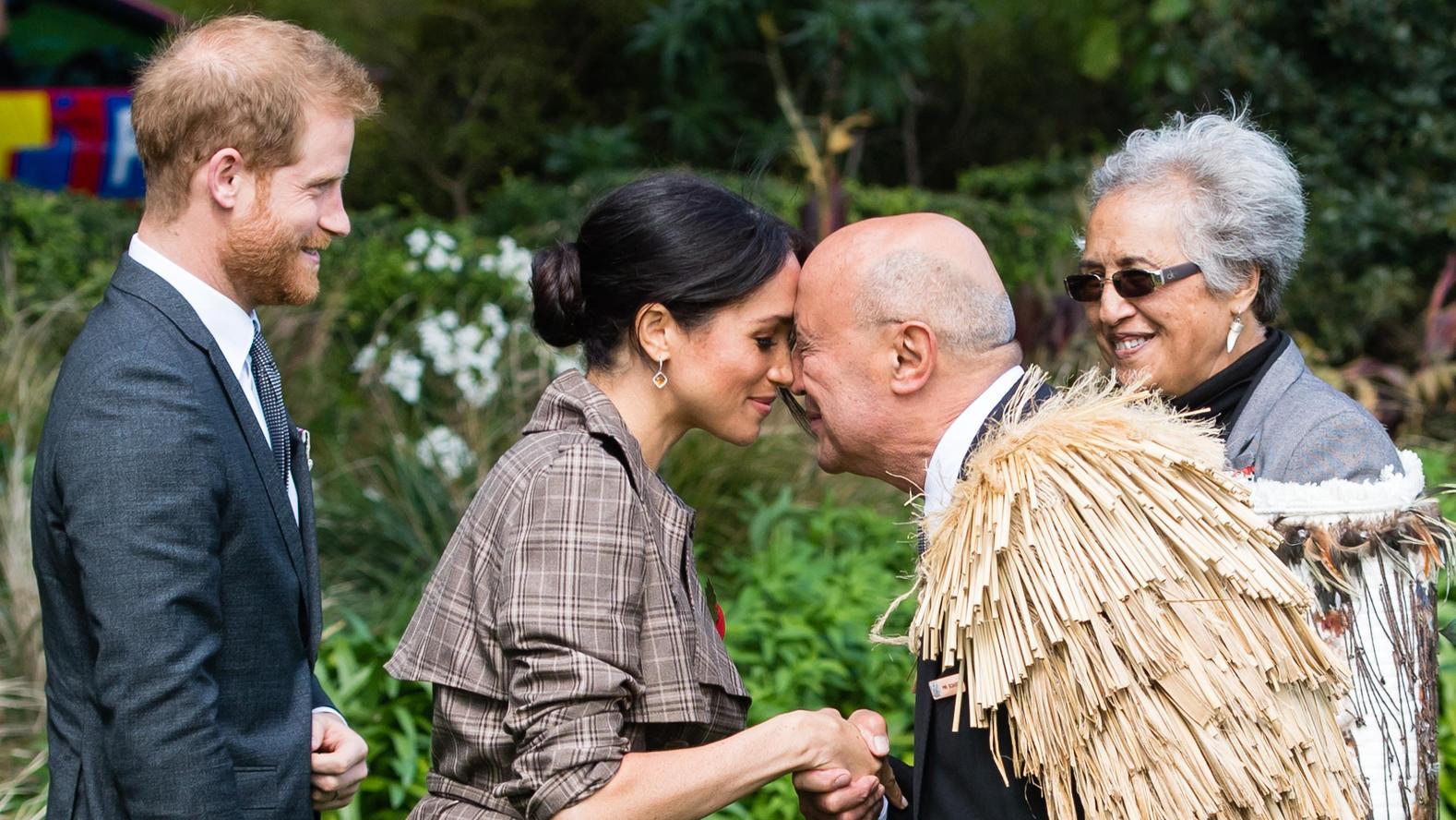 Harry und Meghan treffen in Neuseeland Krisenhelfer