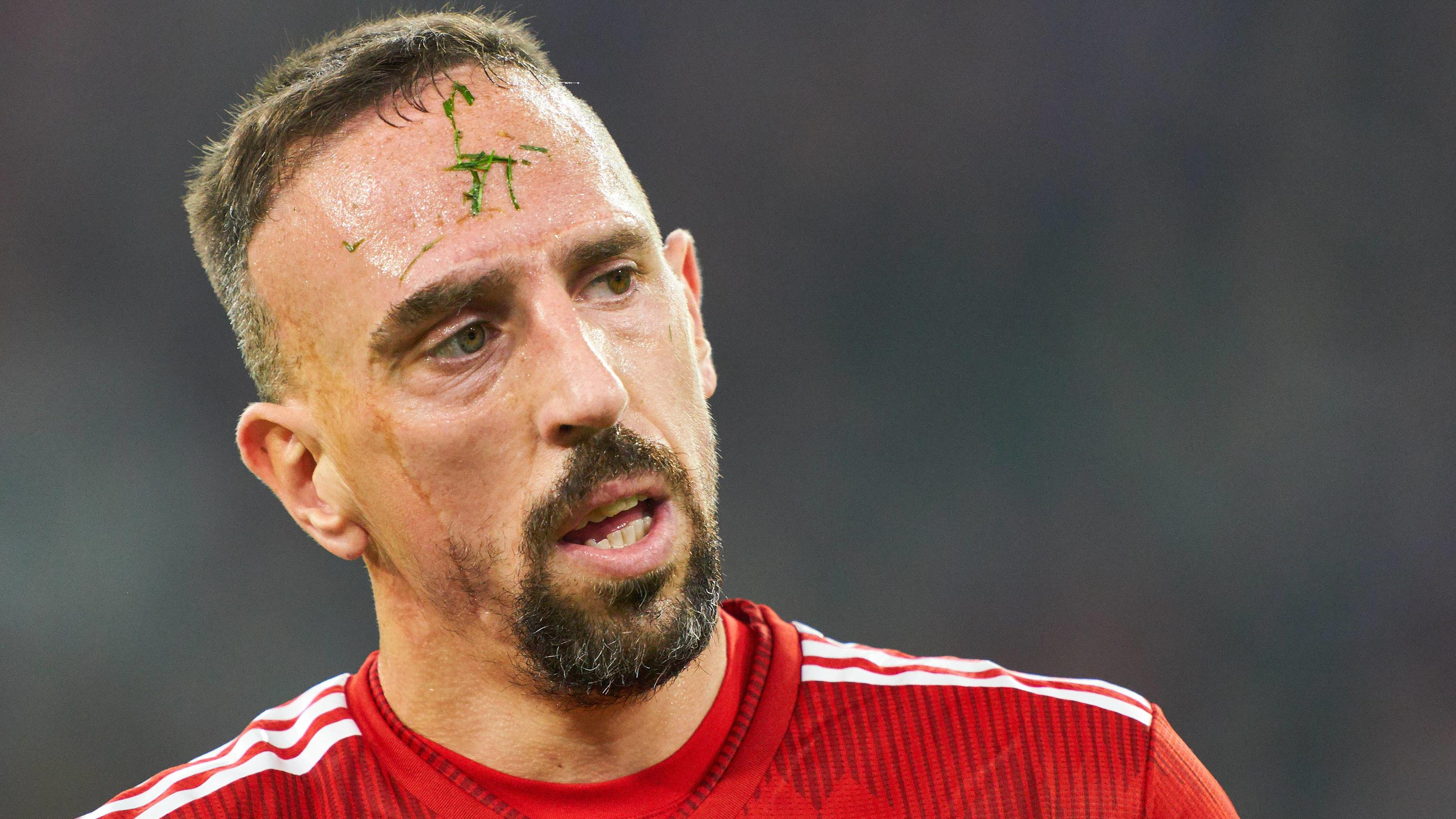 FC Bayern: Franck Ribery lieferte sich