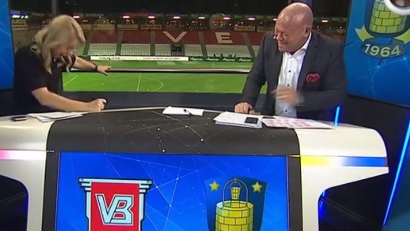 Ex-MSV-Star Stig Töfting furzt im dänischen Fernsehen