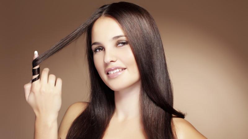 Haare glatten wie schadlich