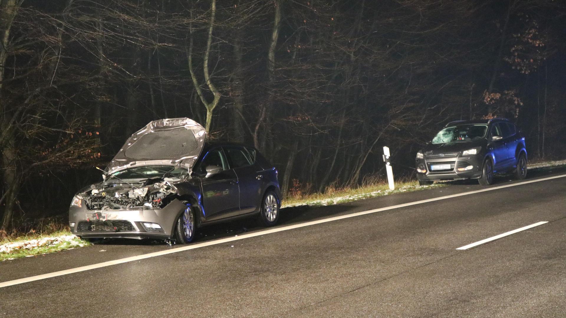 Schwerer Verkehrsunfall auf der B44 / Polizistin von Pkw erfasst