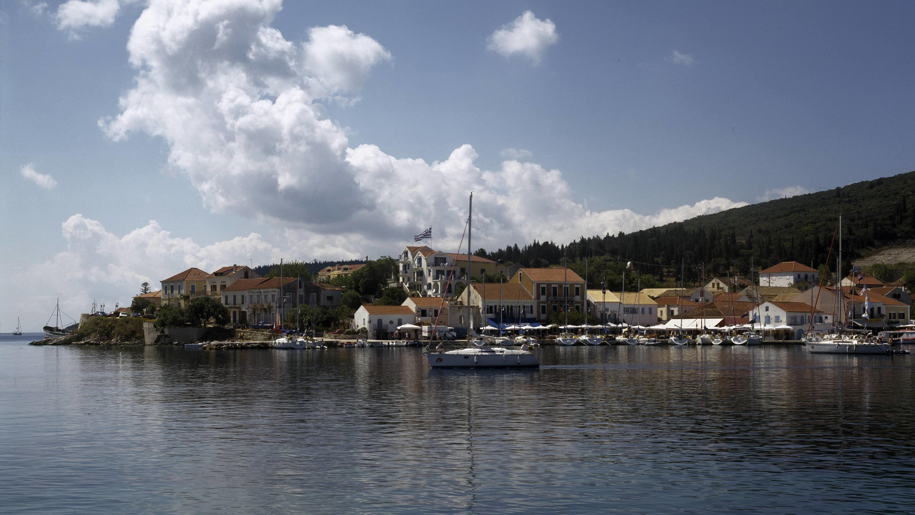 Fiskardo Kefalonia Ionische Inseln Griechenland