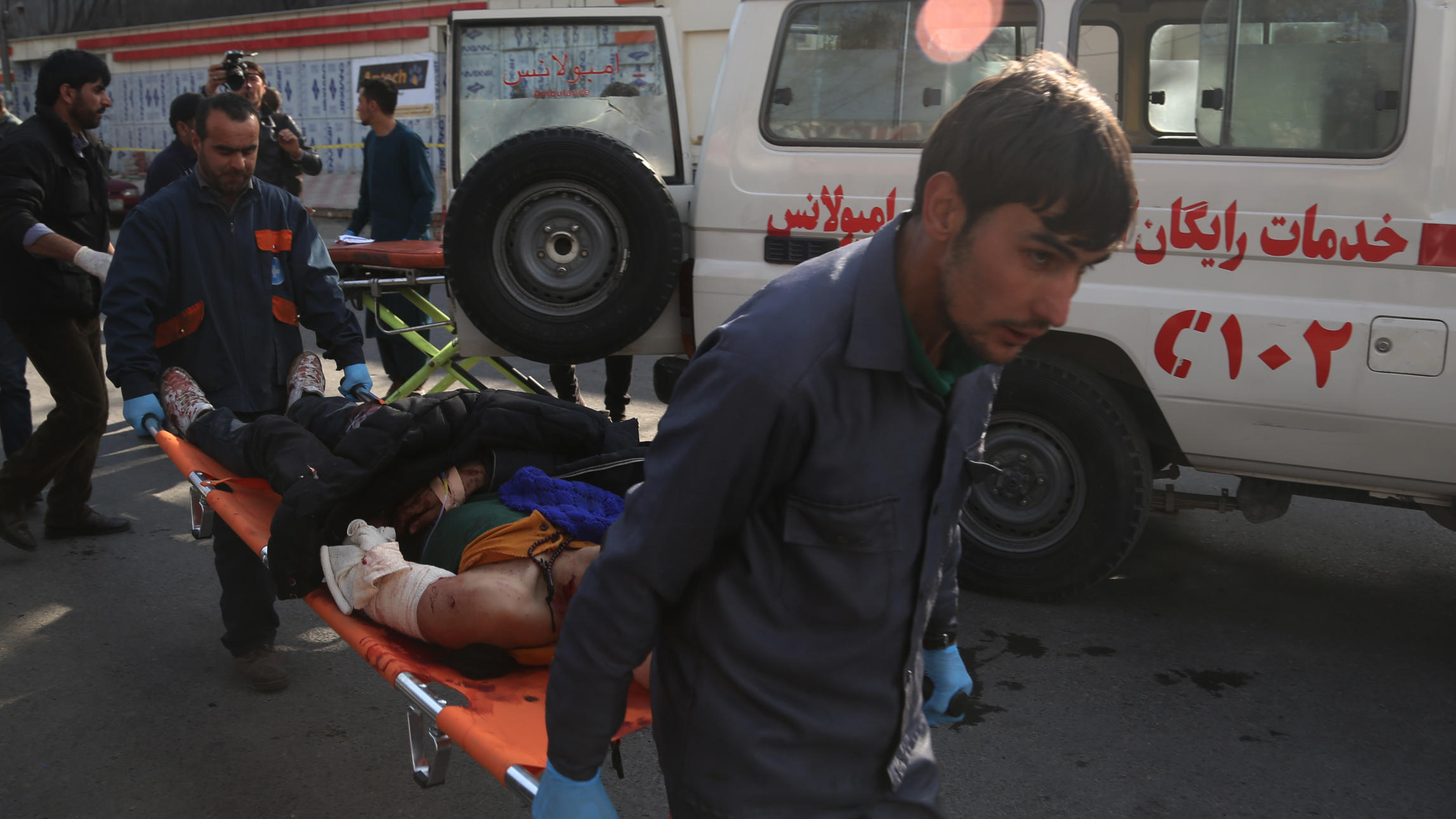 Mehr als 60 Tote bei Taliban-Anschlag in Kabul