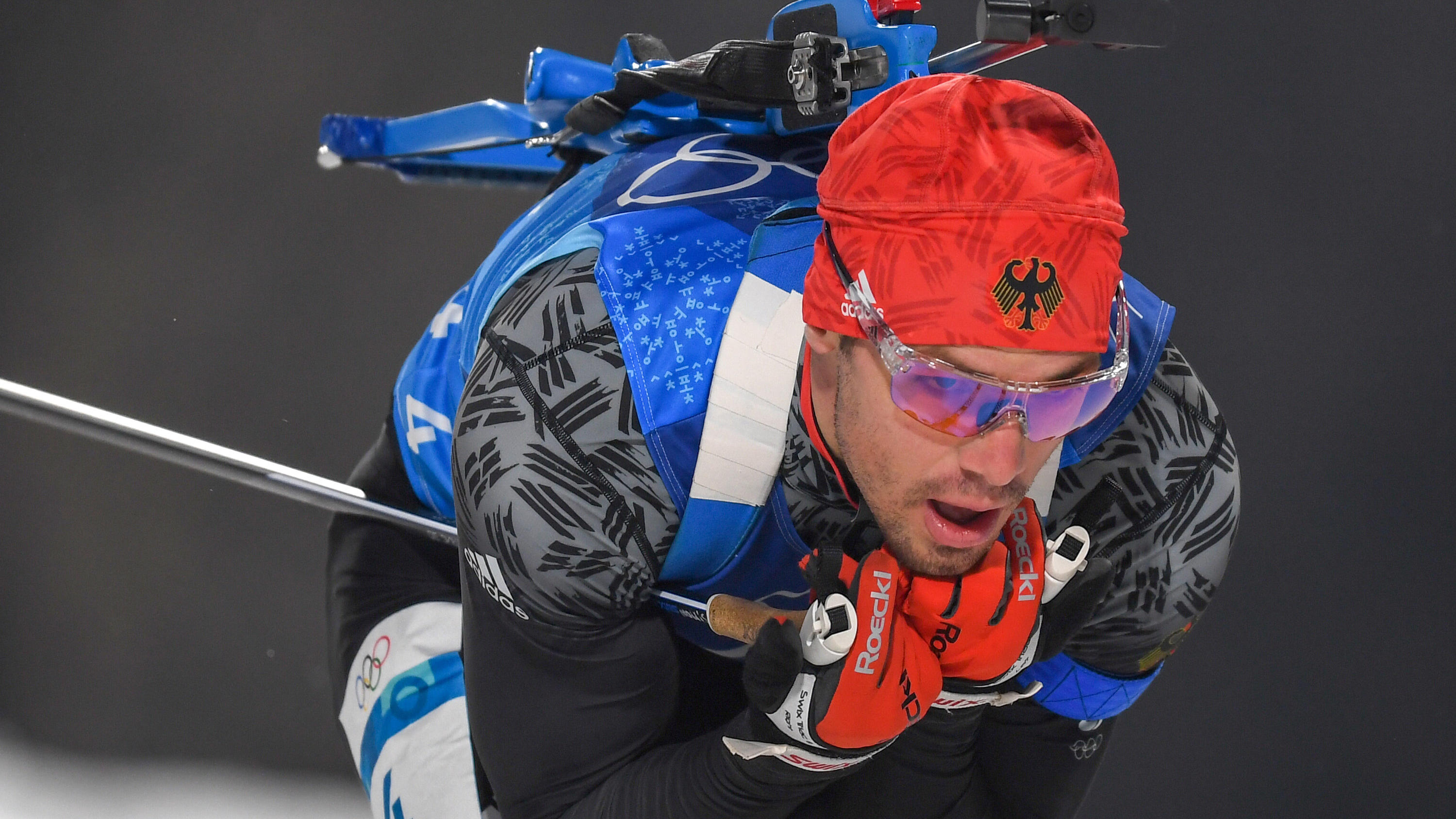 Deutsche Biathlon-Staffel holt Bronze