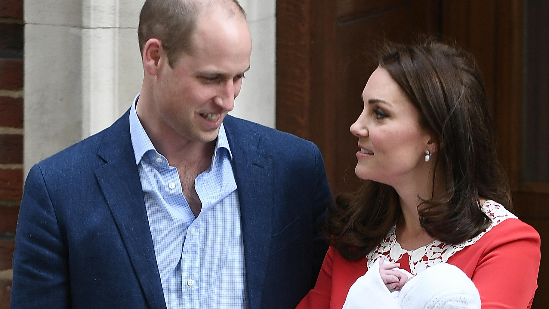 William und Kate: Baby Nr. 3 heißt Prinz Louis