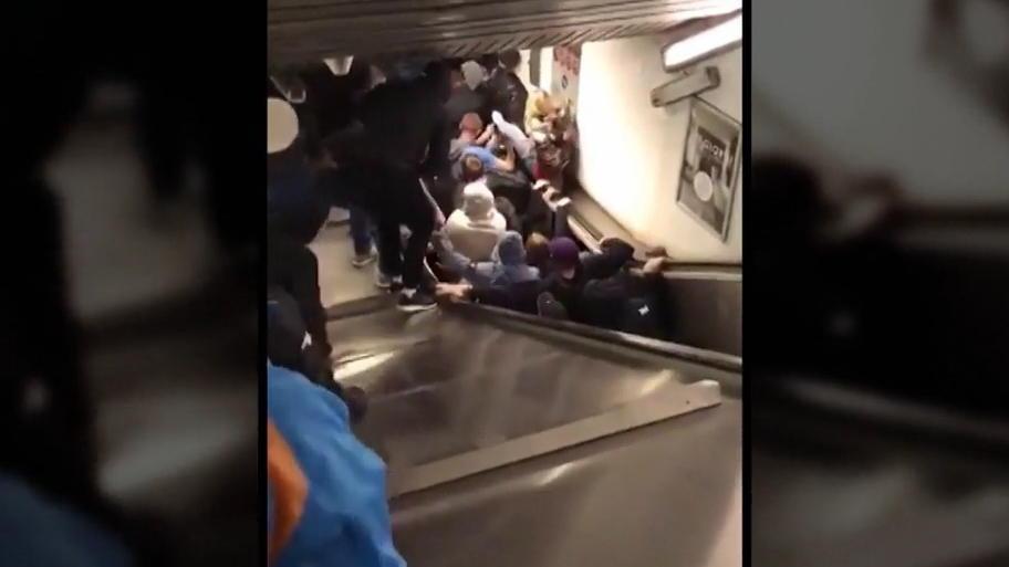 Vor CL-Spiel: Mehrere Verletzte bei Einsturz einer Rolltreppe in Rom