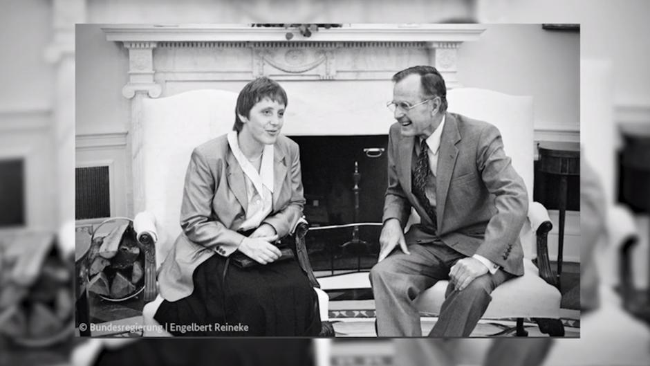 George H. W. Bush (✝94): Seine letzten Worte galten seinem Sohn