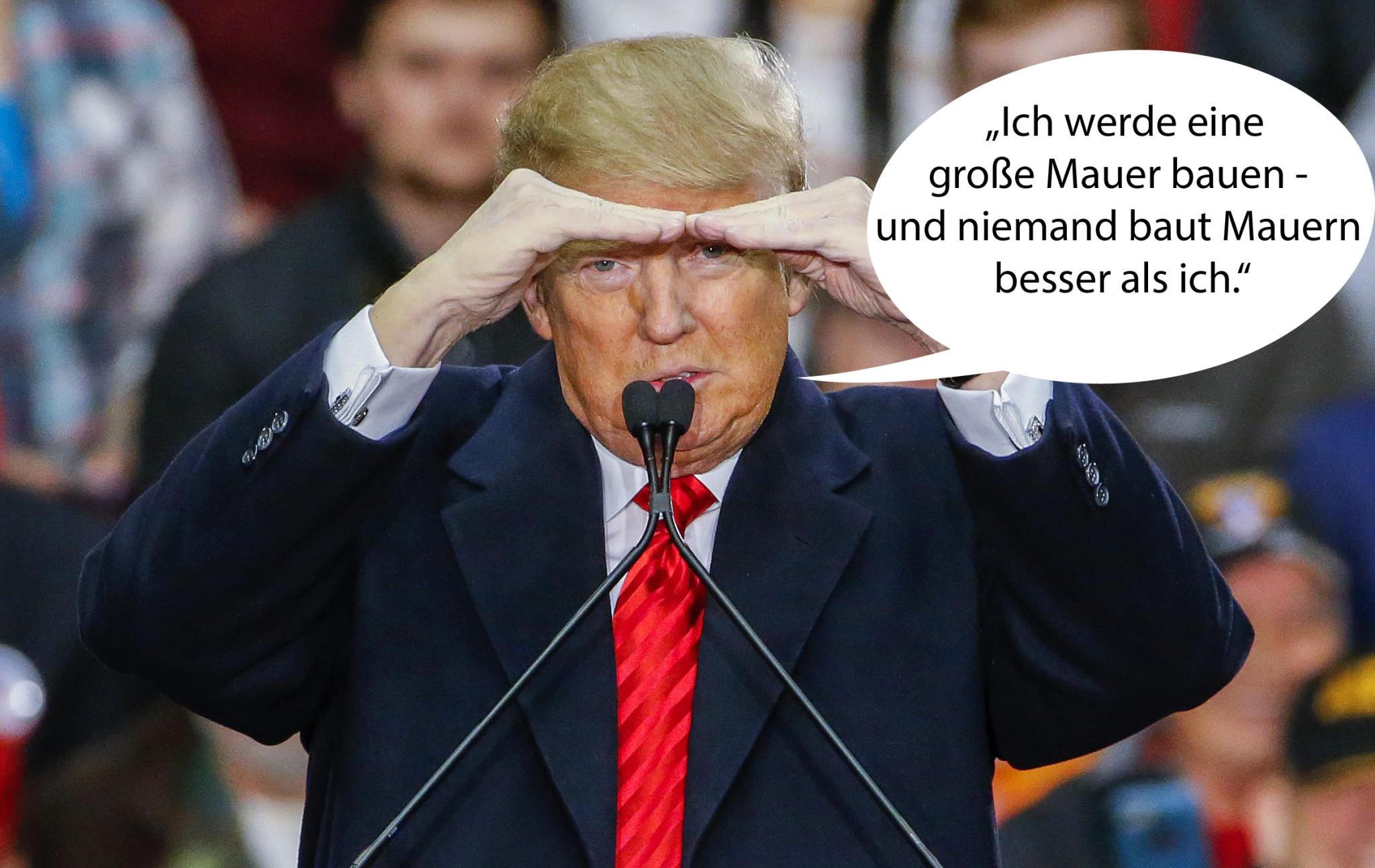 Sprüche Trump