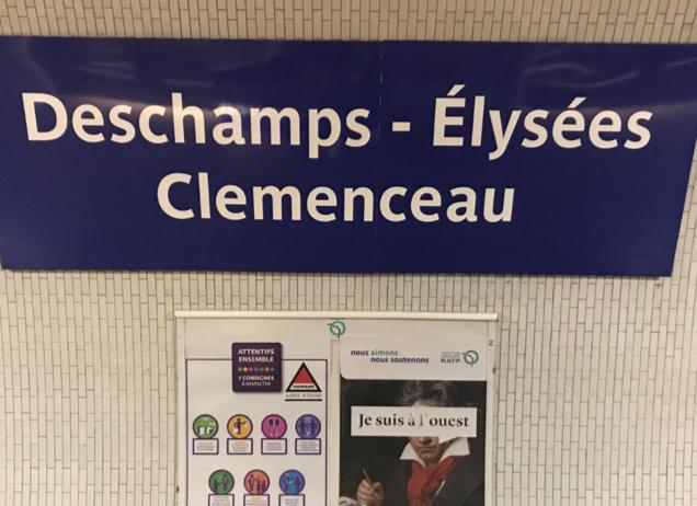 Nächster Halt: Deschamps-Elysees