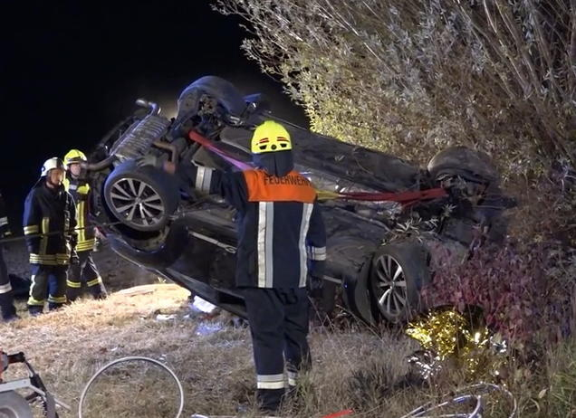 Horror-Crash in Unterfranken