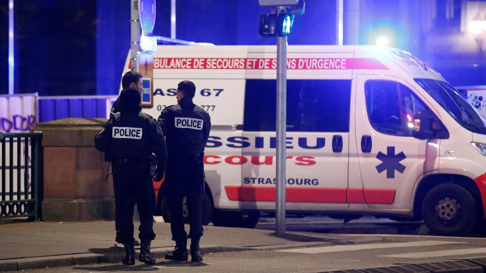 Schießerei in Straßburg