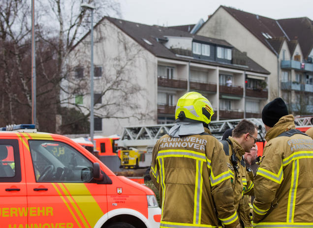 Brandstiftung in Hannover