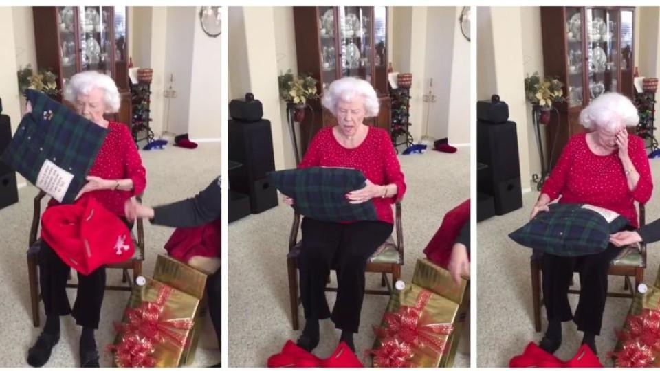 Analfick und klaffende Oma