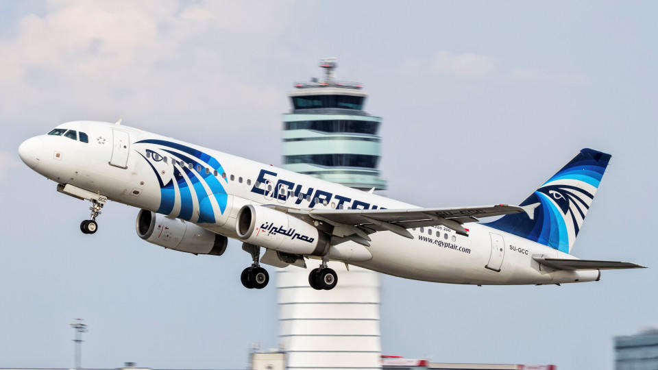 The Egyptair Airbus 320, which disappeared from radar over the Mediterranean sea on Thursday May 19, 2016, is pictured in Vienna, Austria, in this photo taken August 21, 2015. Thomas Ranner/ via Reuters            FOR EDITORIAL USE ONLY. NO RESALES.