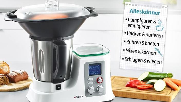 küchenmaschinen vergleich thermomix
