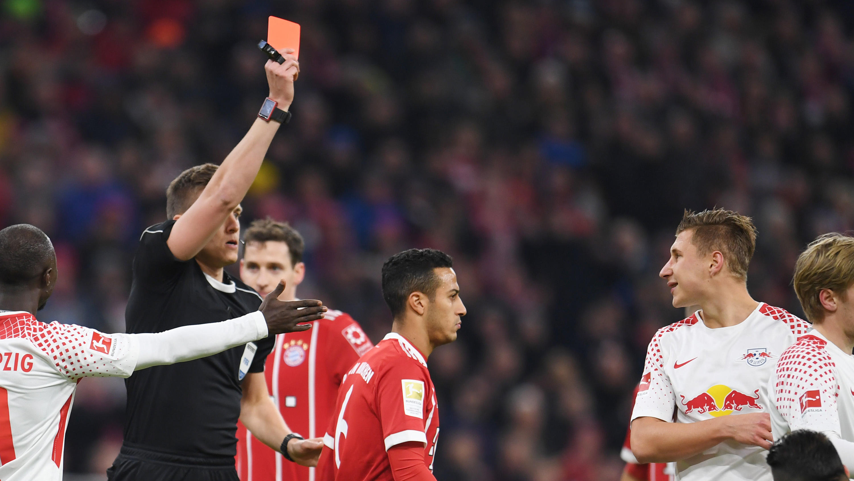 Bayern Rote Karte