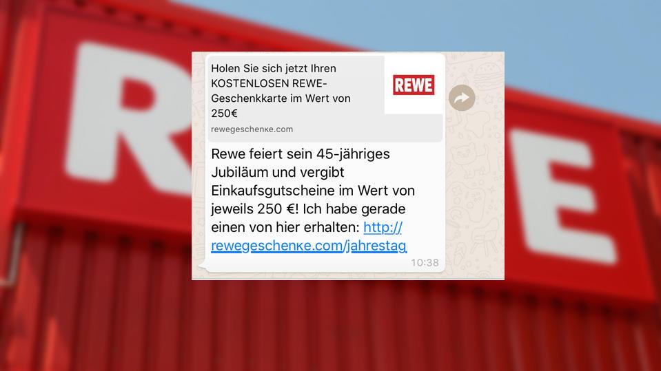 Rewe Gutscheine 250€