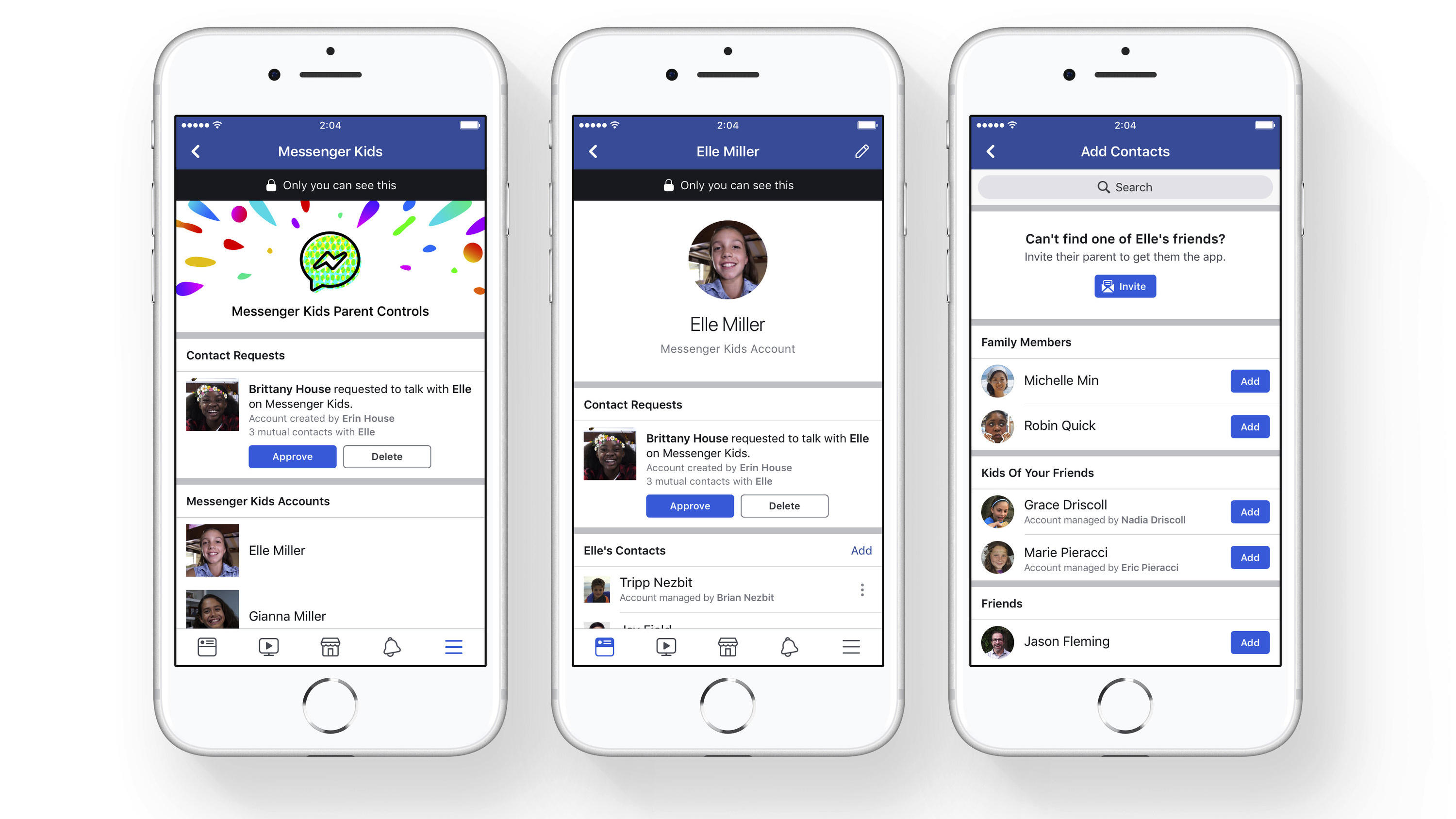 "Facebook startet ""Messenger Kids"":"