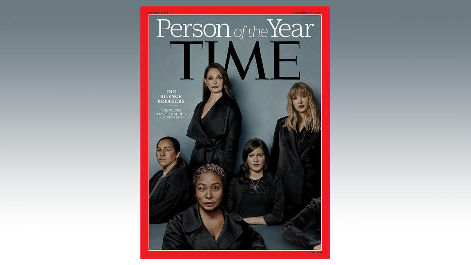 #MeToo-Frauen bekommen den Titel 'Person of the Year'