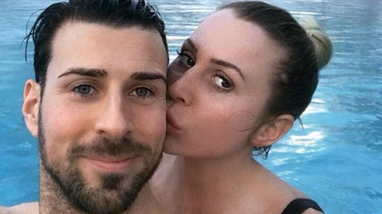 Ex-\'Bachelor\'-Leonard Freier und seine Caona im gemeinsamen Skiurlaub