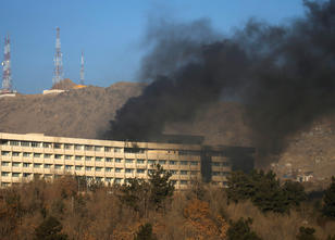 Blutiger Angriff auf Hotel in Kabul