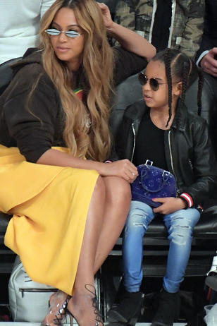 Blue Ivy im Partnerlook mit Beyoncé