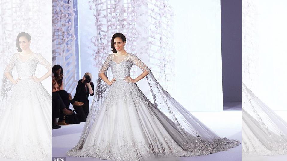 So teuer wie ein Haus: Das soll Meghan Markles Hochzeitskleid kosten