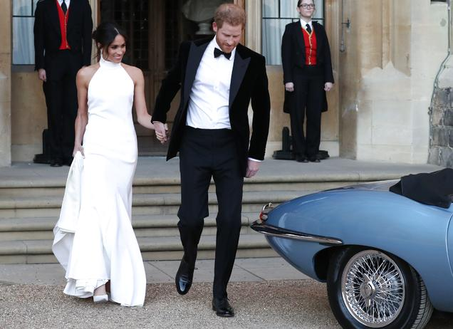 Meghan Markle und Prinz Harry heiraten
